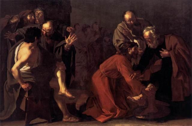 dirck-van-baburen-christ-washing-the-apostles-feet